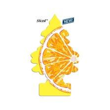 美国小树/little trees 原装进口天然香片 车载挂饰香水【鲜橙】