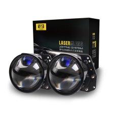 港马 直射式激光LED双光透镜大灯 一对装 免费安装