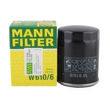 曼牌/MANNFILTER 机油滤清器 W610/6
