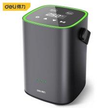 得力(deli) 智能无线车载充气泵数显预设 温度感应 黑色 DL880250B