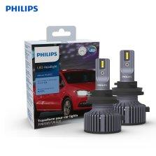 飞利浦X途虎定制   U3 PLUS   汽车LED大灯 H7 6000K 一对装 时尚冷白光    近光
