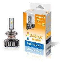 日本凤凰/PHOENIX/飞尼科斯 汽车LED大灯 X5 改装替换 H7 5800K 一对装