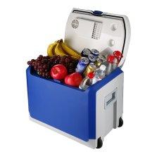 婷微(Tingwei)CB-45 40L蓝色 四季车载冰箱 半导体车家两用大容量冷暖箱 自驾户外保鲜小冰箱(内赠冰袋×2)
