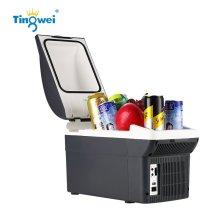 婷微(Tingwei)CB-08U(深灰)TW071 四季车载冰箱冷热箱夏季制冷冬季加热保温冷暖箱便携8L大空间USB接口