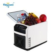 婷微(Tingwei)CB-12 12L白色触控升级 四季车载冰箱 智能数显车载冷暖箱