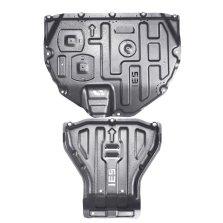 钜甲 汽车发动机下护板 专车专用挡板护底板 3D护板 原车开模 3D镁铝合金 两件套(发动机+变速箱) 链接一对多需备注车型