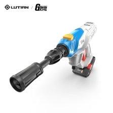 绿田LUTIAN手持无线锂电高压洗车机 240W/28BAR锂电洗车神器