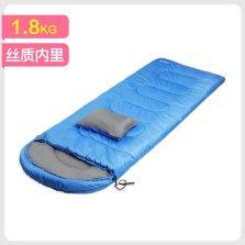 德国TAWA 户外冬季成人保暖睡袋 户外野营露营 带一只头枕 【1.8KG蓝色】140708